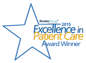 Excellence in Patient Care Award Winner